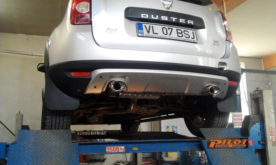 81 kW esapament dacia duster esapament DUSTER 1.5 TdCi 16V esapament inox duster marire putere duster traseu evacuare duster