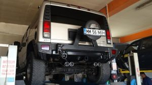 HUMMER H2 – dual exhaust by PILOT