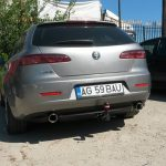 Pilot Power Tuning esapament Alfa romeo 159 - dual 01