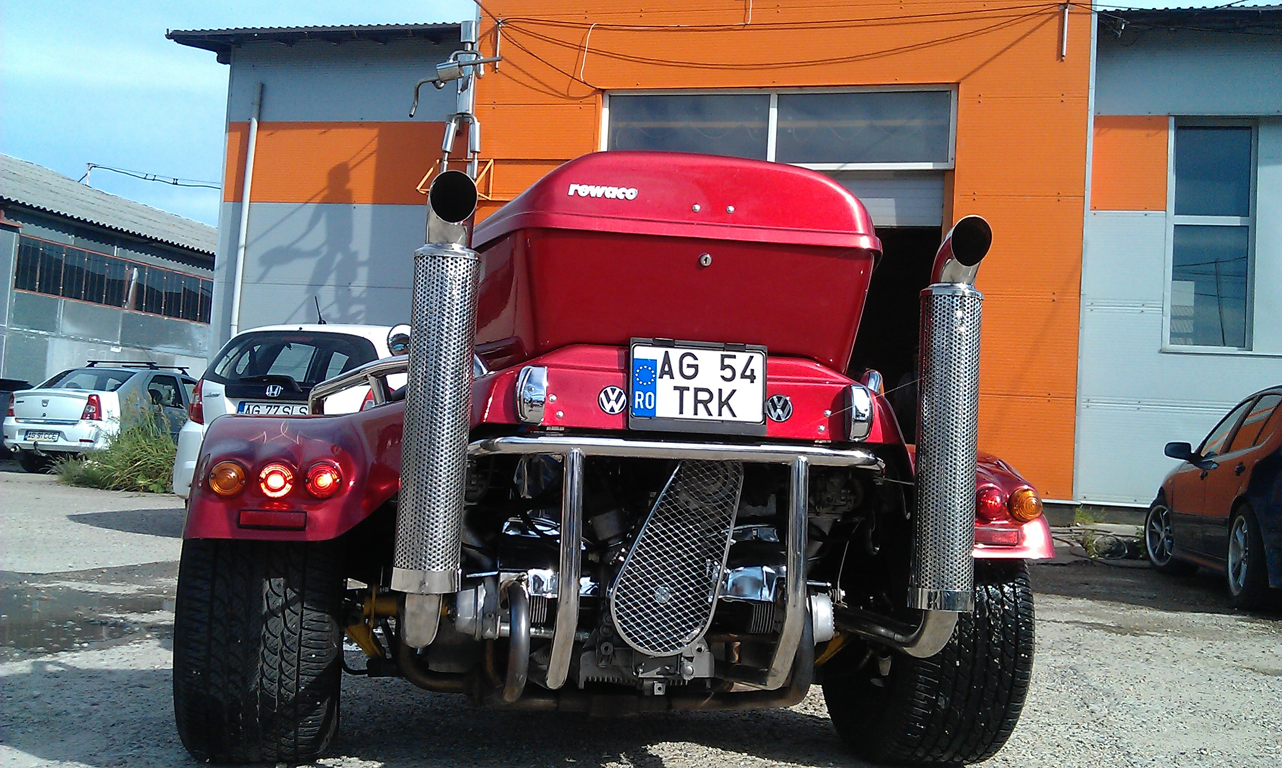 VW Rewaco – exhaust by PILOT